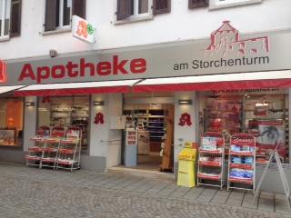 Logo der Apotheke am Storchenturm