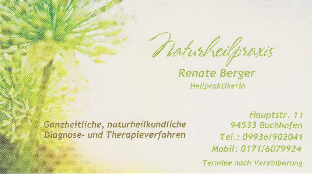 Logo der Dr. med. dent. Renate Berger